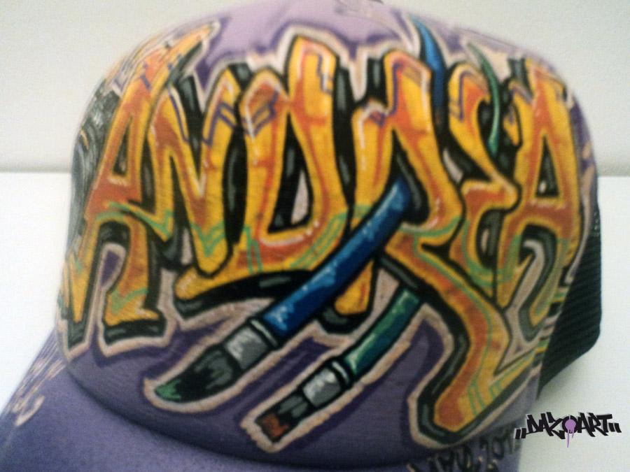 Cap Andrea Dazoart Graffitis Mural Art